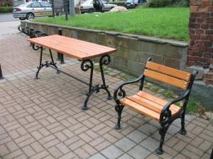 ławka i stół Saba