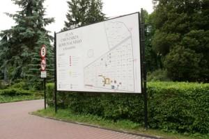 Tablica info 4x2 m