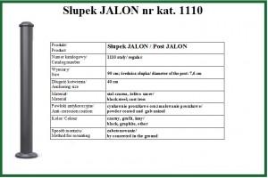 słupek JALON