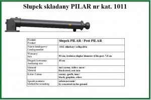 słupek PILAR składany
